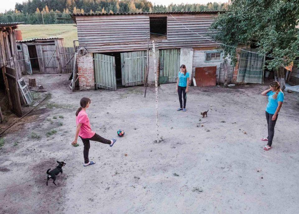 Rodiny, ktoré sa rozhodli žiť voblasti Černobyľu