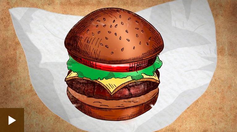 Odkiaľ sa vzali hamburger, suši, čokoláda alebogin tonic? Prekvapivé dejiny jedál anápojov vanimovaných videách BBC