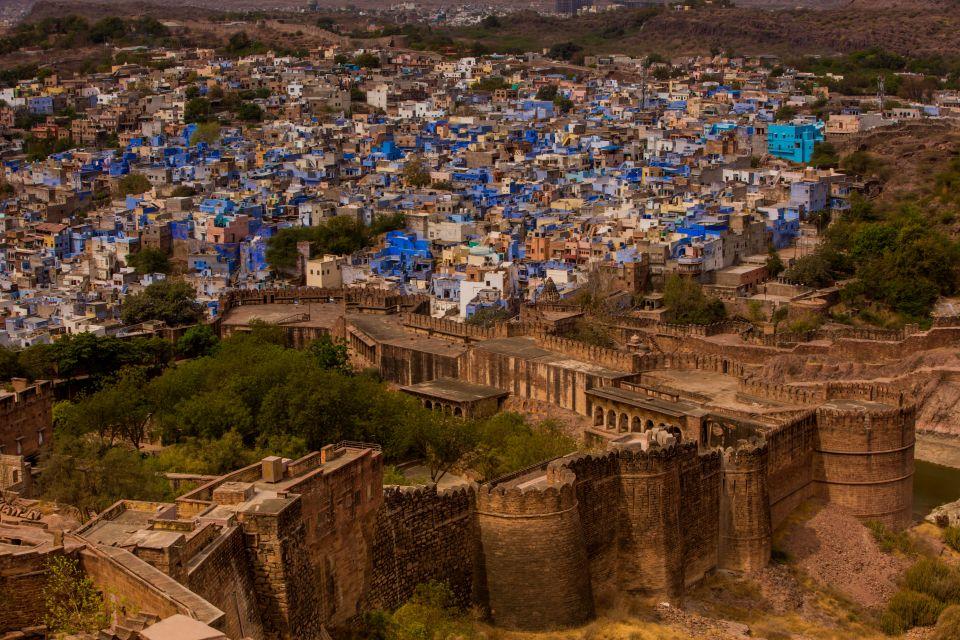 Džódhpur –modré mesto (more) napúšti