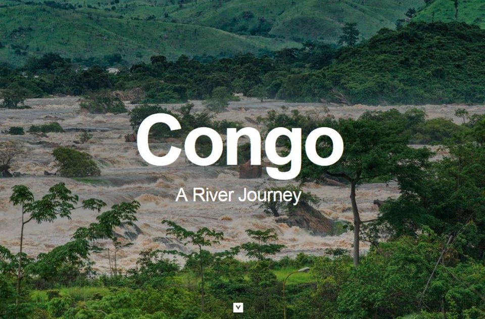 Reportáž budúcnosti. Interaktívny príbeh BBC oživote pririeke Kongo