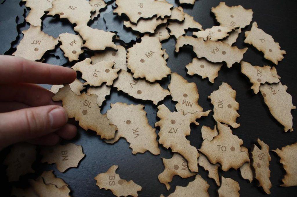 lebo medveď puzzle Slovensko