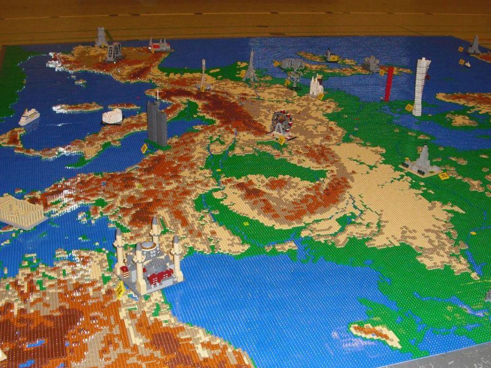 Detský sen každého geografa –veľká mapa postavená zLega