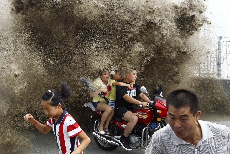 Prílivová vlna narieke Čchien-tchang