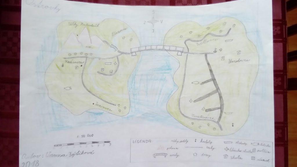 výtvarná výchova mapa