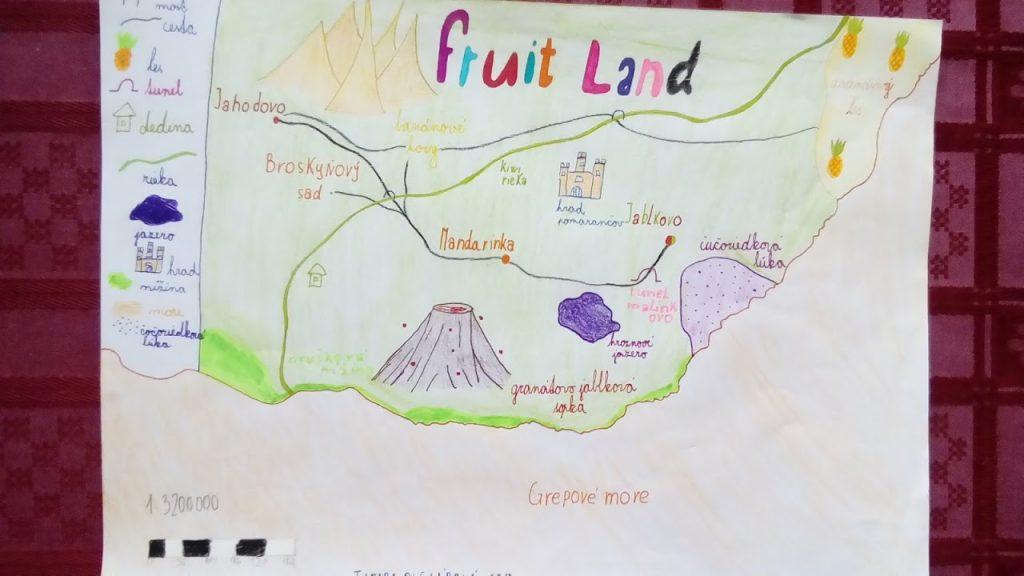 detské mapy geografia