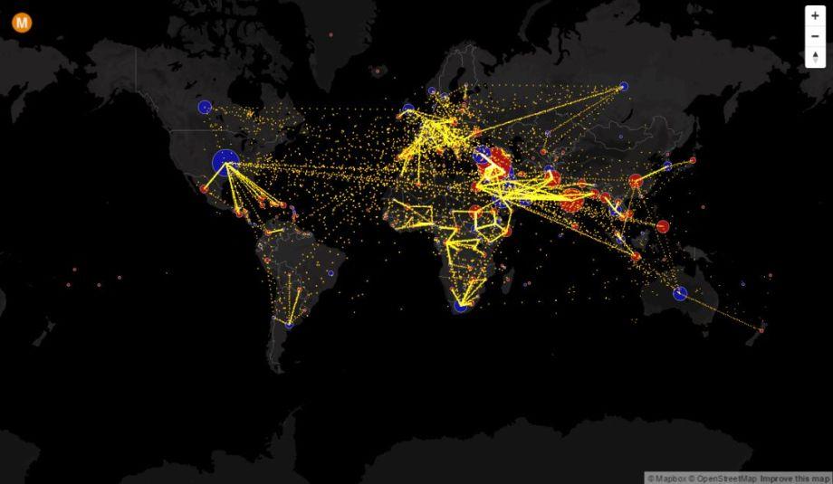 Mapa, ktorá zmení váš pohľad namigráciu