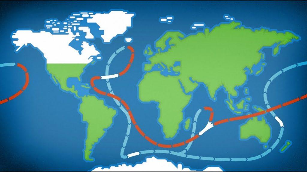 Morské prúdy aglobálne zmeny klímy