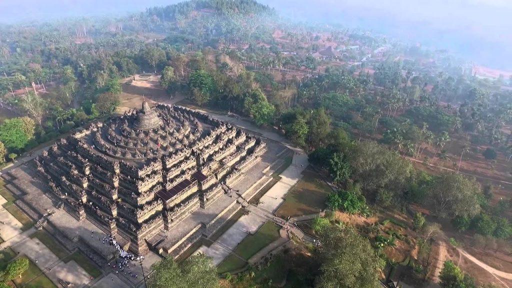 Borobudur –mandala, ktorá je chrámom.