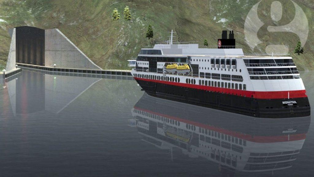 V Nórsku vybudujú prvý lodný tunel nasvete