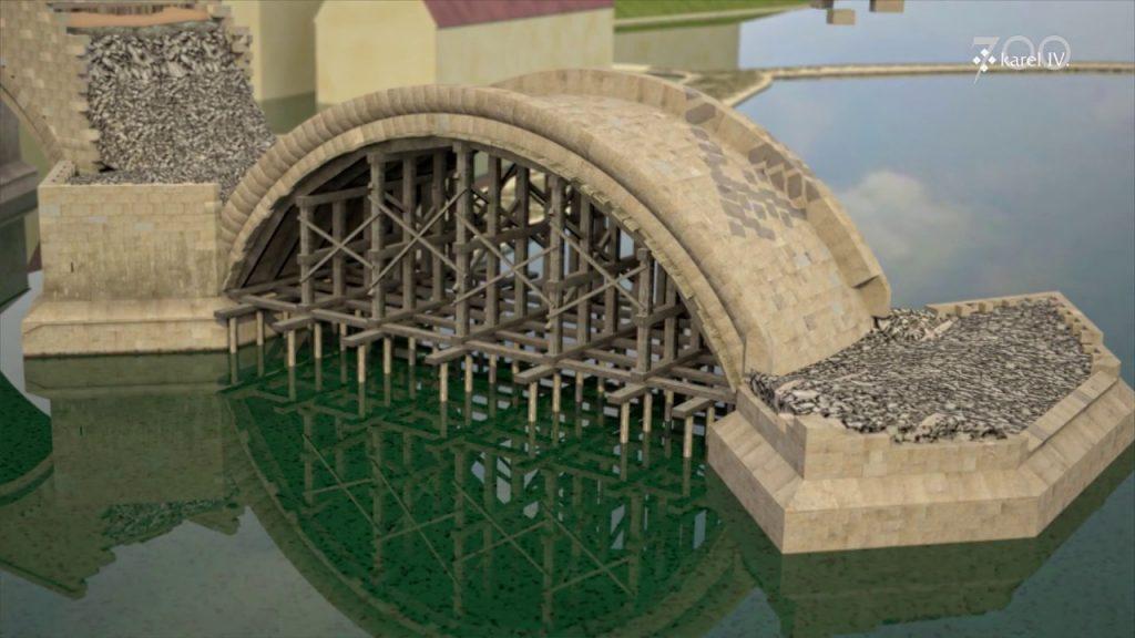 Ako sa staval Karlov most vPrahe