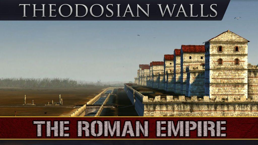 Theodosiánské hradby –Čínsky múr Konštantínopolu