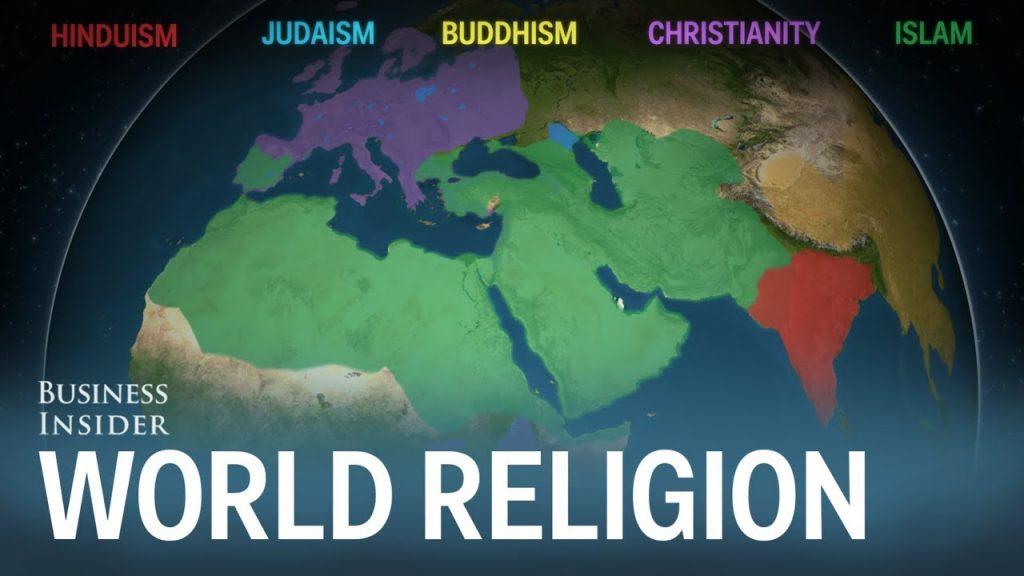Geografia náboženstiev vpriebehu dejín