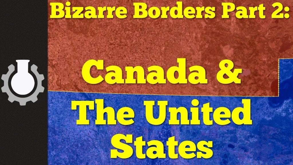 Zaujímavosti azáludnosti americko-kanadskej hranice