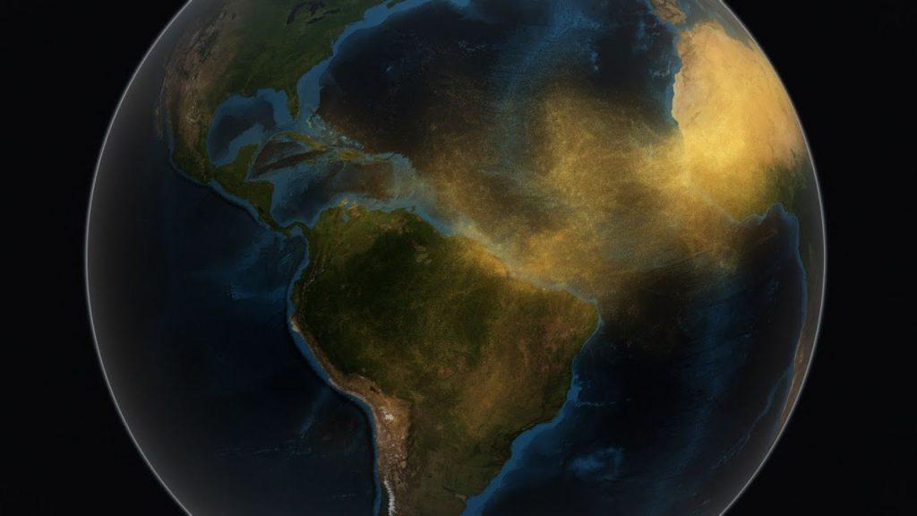 Ako piesok zoSahary ovplyvňuje Amazóniu? Pozrite si video NASA
