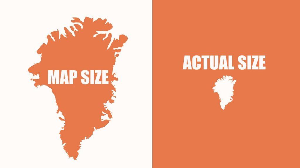 Veríte mapám sveta? Toto video vám ukáže prečo niektoré znich klamú