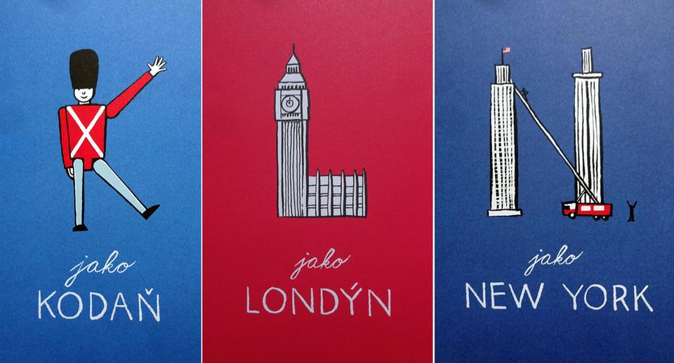 kreslené mestá sveta