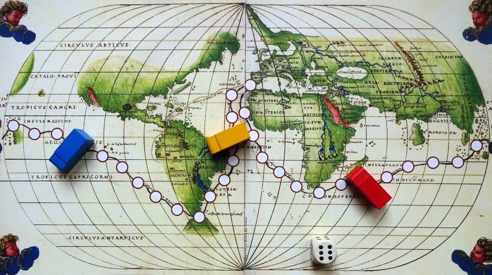 moreplavci a objavitelia hra