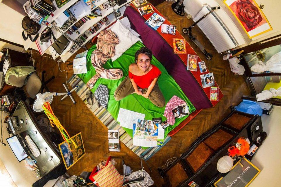 Ako bývajú mladí ľudia vosvete? Nahliadnite doich izieb