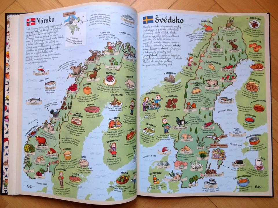 Ochutnaj svet detský atlas