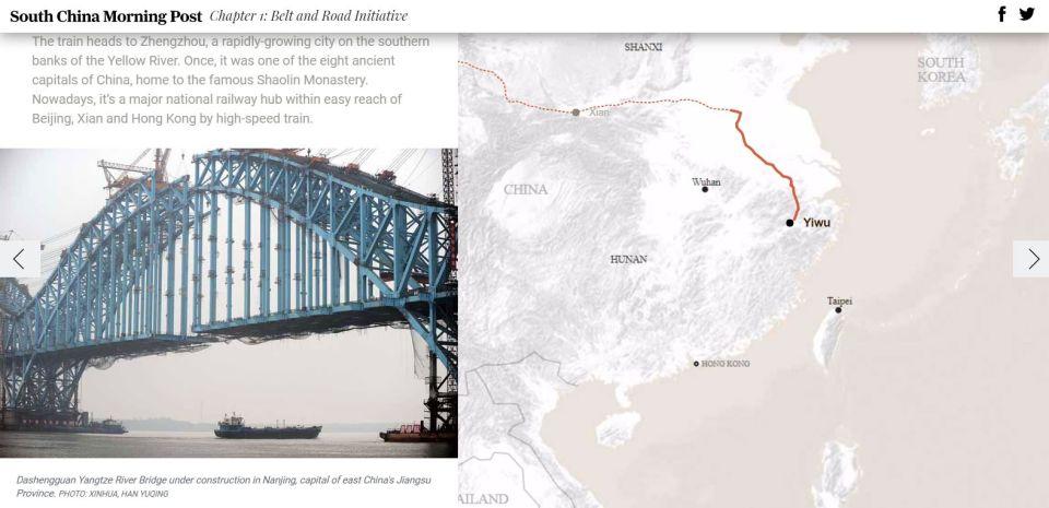 Hodvábne cesty súčasnosti. AkoČína investuje dotranskontinentálnej infraštruktúry