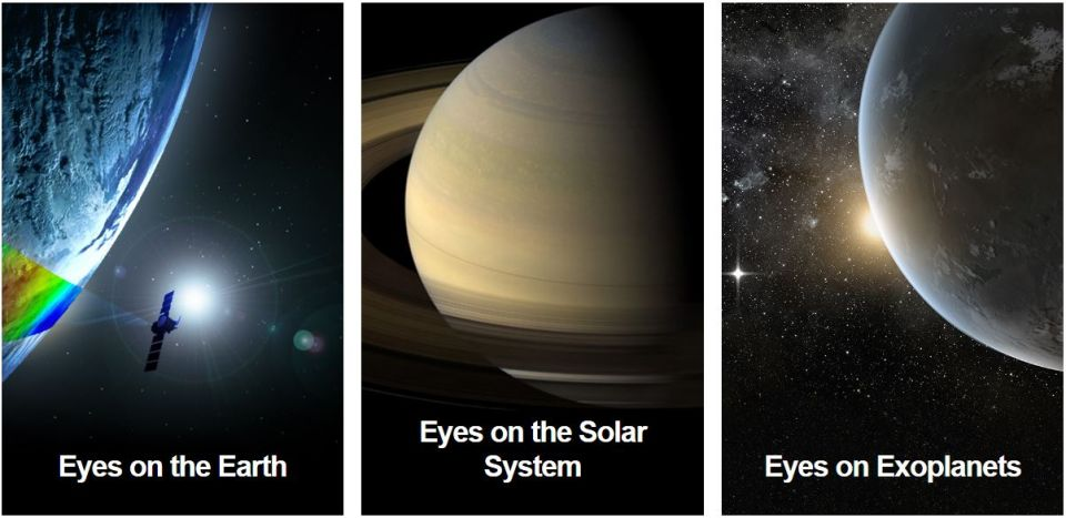 NASA's Eyes –Zem avesmír očami tých najlepších