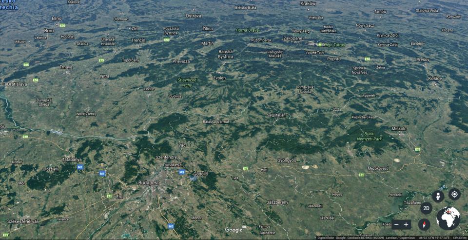 ako sa zmenil Google Earth