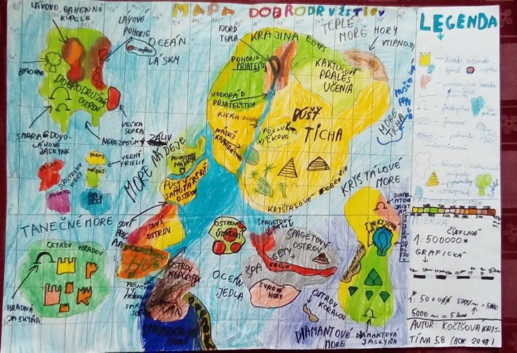 geografia kreativita škola
