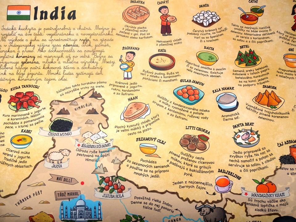 jedlá Indie pre deti