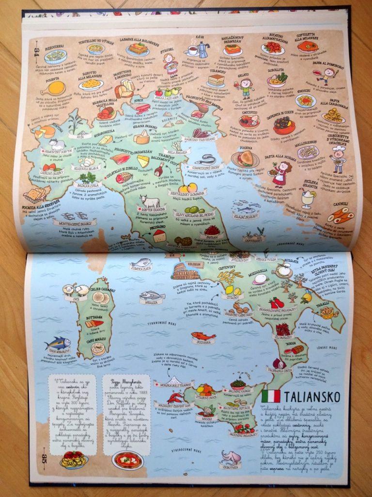 jedlá Talianska atlas