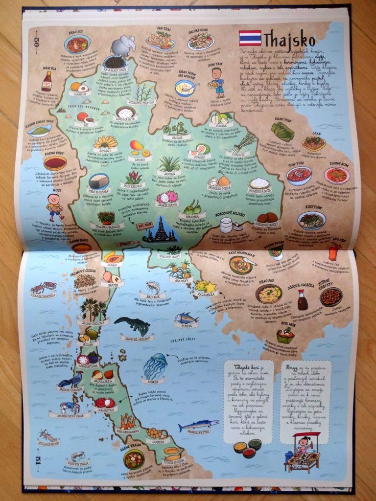 detský ilustrovaný atlas jedál