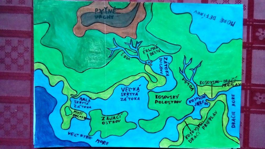 mapová aktivita geografia