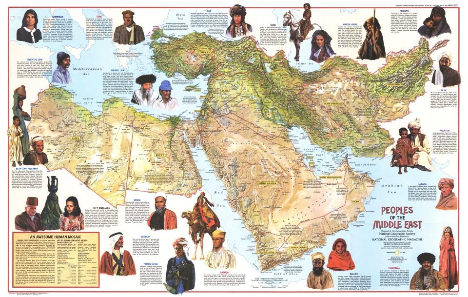 Mapový archív National Geographic