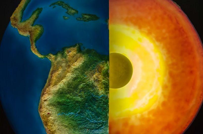 vrstvy Zeme geografia