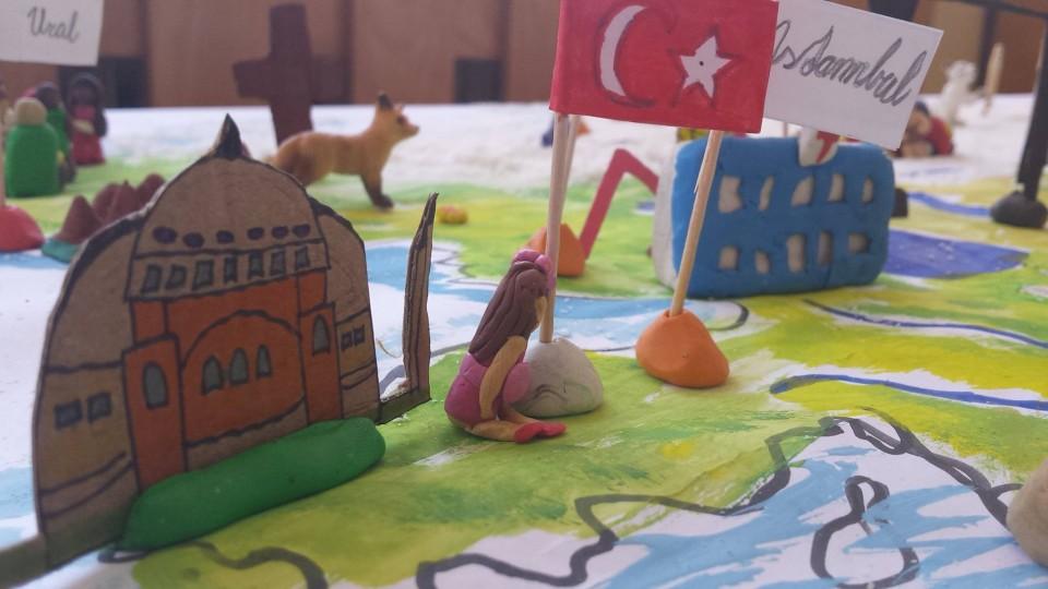 kreativita geografia