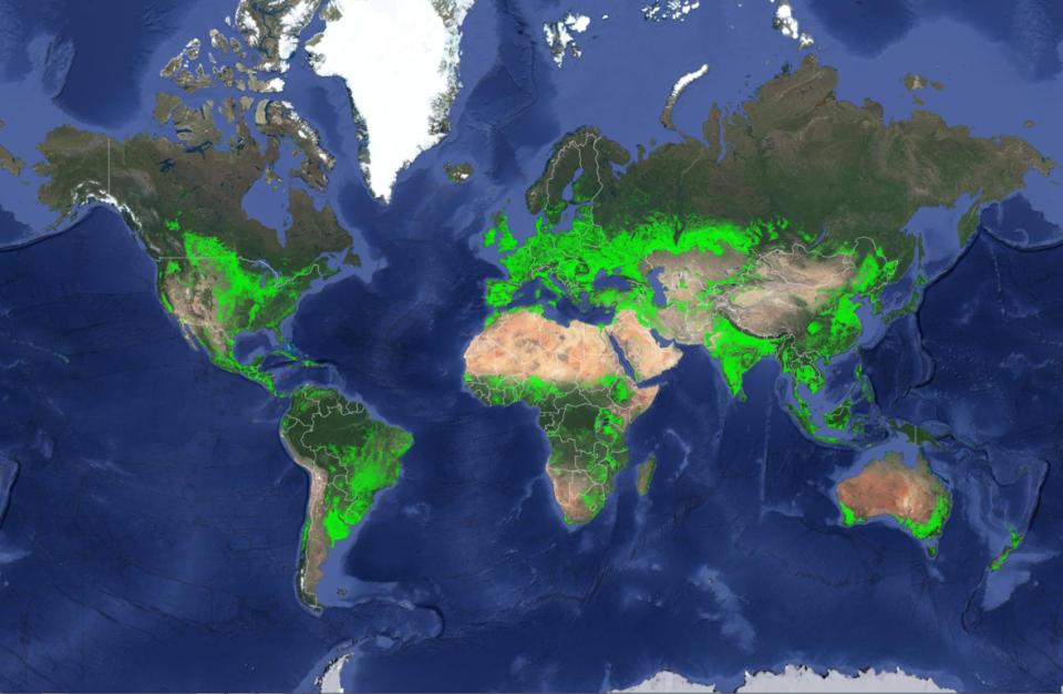 Zem, ktorá nás živí –poľnohospodárske oblasti sveta