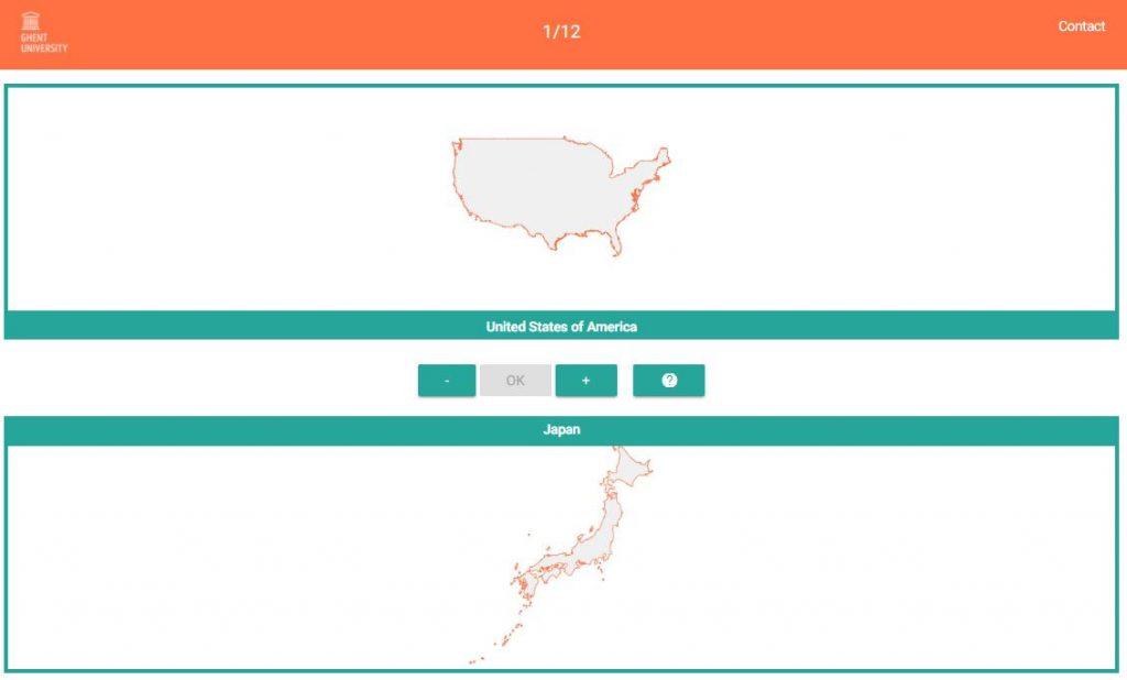 Poznáte rozlohu štátov? Je vaša predstava osvete správna? Vyskúšajte sa voriginálnom mapovom prieskume