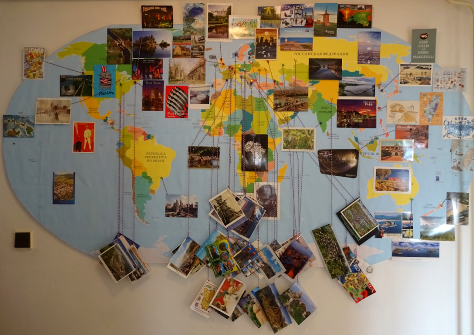 pohľadnice zo sveta