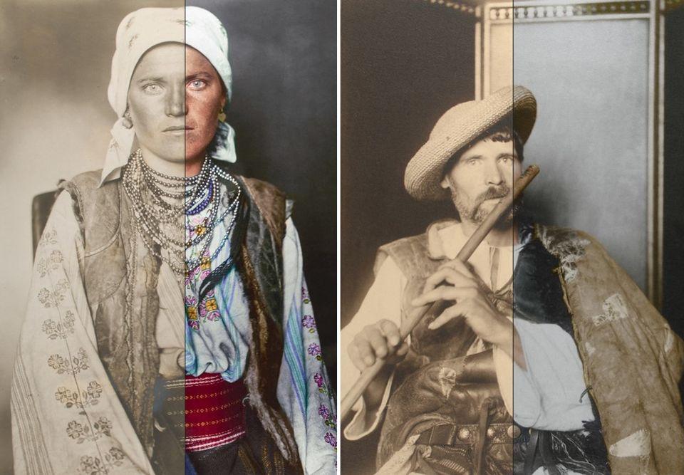 Vyfarbená minulosť –fotografie prisťahovalcov doUSA spredsto rokov