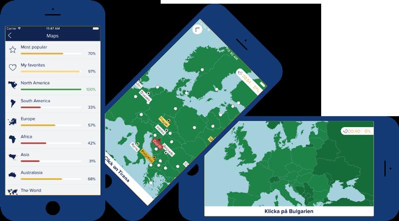 aplikácia geografia hry