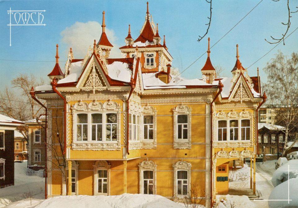 Sibírska secesia. Krása drevených domov vTomsku