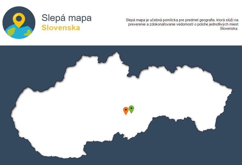 Ako poznáte polohu slovenských miest? Vyskúšajte sa vmapovej hre
