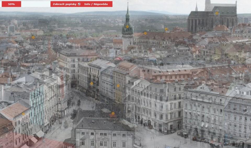 Ako sa zmenilo Brno odroku 1867 (porovnávacia panoráma)