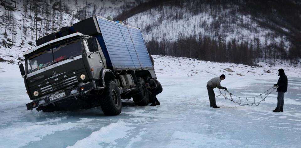 Na sibírskej ľadovej magistrále