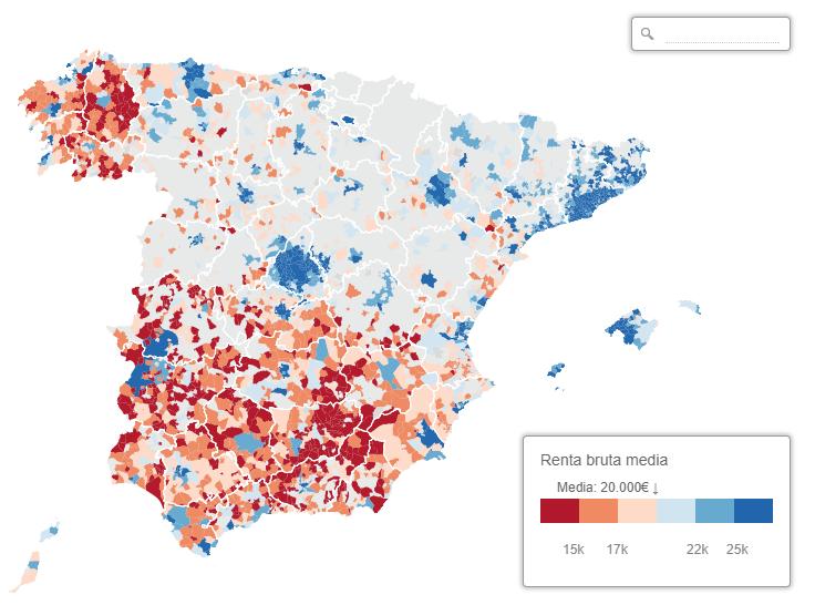 Mapa regionálnych rozdielov Španielska je súčasťou odpovede naotázku onezávislosti Katalánska