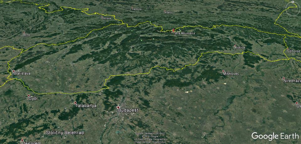 porovnanie nového a starého Google Earth