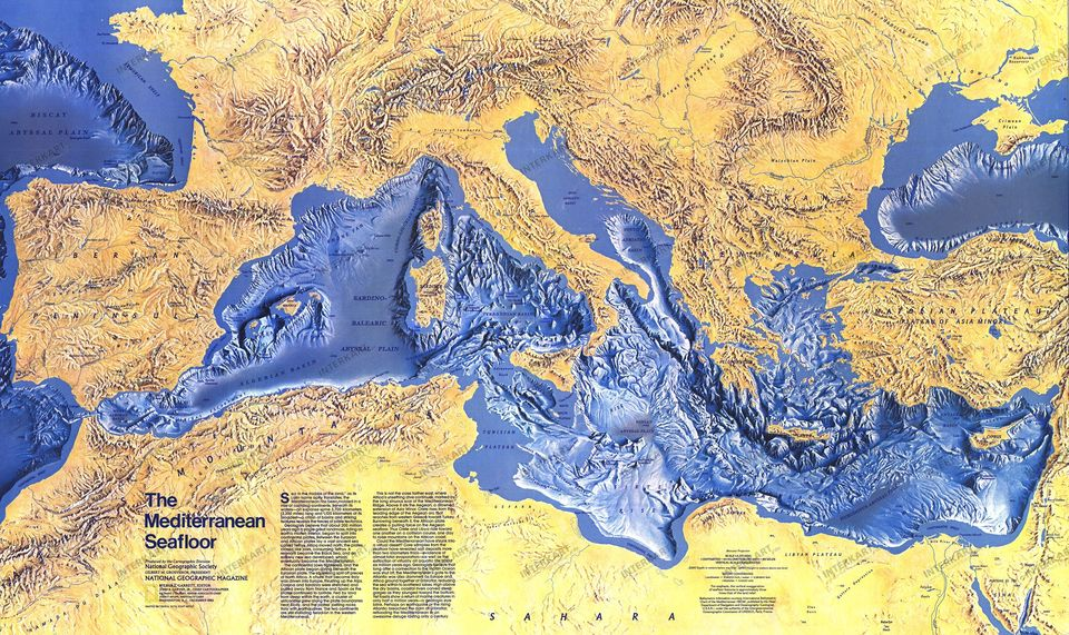 Čo sa skrýva nadne Stredozemného mora?