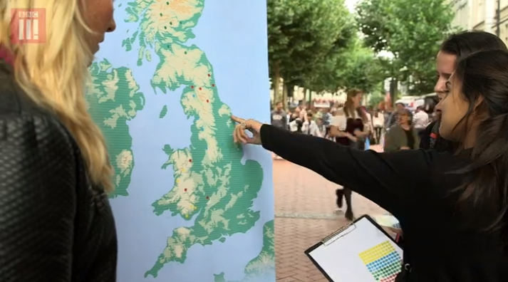 BBC testovala vedomosti zgeografie Spojeného kráľovstva naulici. Akoby todopadlo unás?