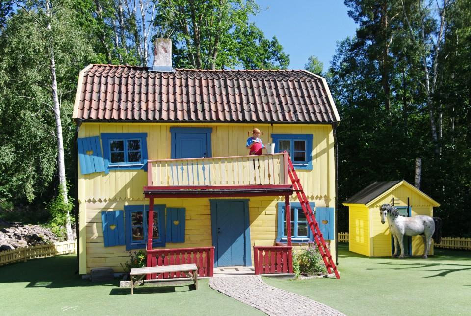 Rozprávkový svet Astrid Lindgrenovej nájdete vošvédskom Vimmerby