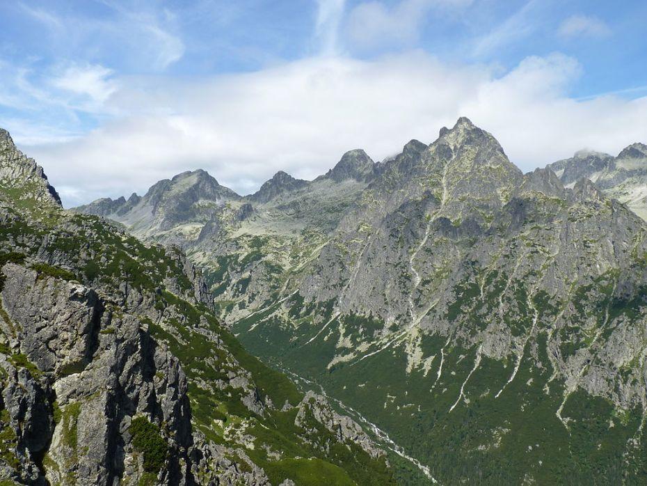 reliéf Slovenska
