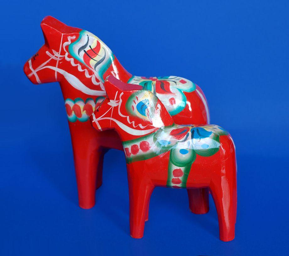 Švédsko suvenír koník